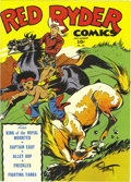 Golden Age (1938-1955):Western, Red Ryder Comics #26 File Copy (Dell, 1945) Condition: NM. Fred Harman's Red Ryder is joined by Alley Oop, Captain Easy, and...