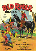 Golden Age (1938-1955):Western, Red Ryder Comics #29 (Dell, 1945) Condition: NM. Fred Harman cover and art. Overstreet 2006 NM- 9.2 value = $265.From the ...