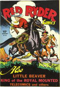 Golden Age (1938-1955):Western, Red Ryder Comics #30 File Copy (Dell, 1946) Condition: NM. Backing up Red Ryder in this issue are the King of the Royal Moun...