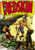 Golden Age (1938-1955):Western, Redskin #1 Mile High pedigree (Youthful Magazines, 1950) Condition:NM. John Sink cover art. Overstreet 2006 NM- 9.2 value =...