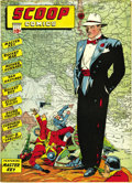 Golden Age (1938-1955):Superhero, Scoop Comics #3 Mile High pedigree (Chesler, 1942) Condition: FN+. We had never offered this issue before, an oversight we'r...