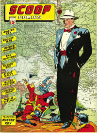 Scoop Comics #3 Mile High pedigree (Chesler, 1942) Condition: FN+. We had never offered this issue before, an oversight...