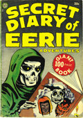 Golden Age (1938-1955):Horror, Secret Diary of Eerie Adventures #1 (Avon, 1953) Condition:Apparent VG. We had never seen this 100-pager before, lending cr...