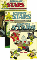 Golden Age (1938-1955):Miscellaneous, Sparkling Stars Mile High pedigree Group (Holyoke Publications, 1944-48) Condition: Average VF+. This massive group is just ... (Total: 27 Comic Books)