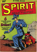 Golden Age (1938-1955):Crime, The Spirit #nn (#1) (Quality, 1944) Condition: VF. Lou Fine was one of the Eisner studio's go-to guys, and he's credited wit...