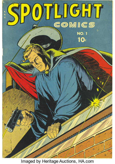Spotlight Comics #1 Mile High pedigree (Chesler, 1944) Condition: NM-. You've ogled this one in Gerber's Photo-Journal, ...