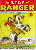 Platinum Age (1897-1937):Miscellaneous, Star Ranger #1 (Centaur, 1937) Condition: FN. This is considered the first Western comic ever, tying for the honor with We...