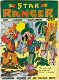 Golden Age (1938-1955):Western, Star Ranger #2 (Centaur, 1937) Condition: FR/GD. Cover looks VF, but interior pages are brittle at edges. First and last pag...