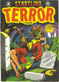 Golden Age (1938-1955):Horror, Startling Terror Tales #10 Mile High pedigree (Star Publications,1952) Condition: VF+. This pre-Code horror book has tons t...