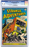 "Golden Age (1938-1955):Science Fiction, Strange Adventures #26 Davis Crippen (""D"" Copy) pedigree (DC, 1952)CGC NM- 9.2 Off-white to white pages. Some fine artists ..."