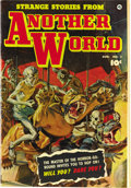 Golden Age (1938-1955):Horror, Strange Stories from Another World #2 Mile High pedigree (Fawcett,1952) Condition: NM-. A painted cover by pulp ace Norman ...