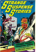 Golden Age (1938-1955):Horror, Strange Suspense Stories #2 Mile High pedigree (Fawcett, 1952)Condition: NM-. Bernard Baily is credited with this issue's c...