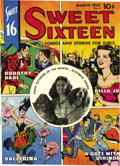 Golden Age (1938-1955):Miscellaneous, Sweet Sixteen #4 Mile High pedigree (Parents' Magazine Institute, 1947) Condition: NM+. While not a romance book, this serie...