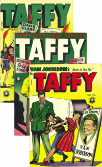 Taffy Comics #2 and #5-12 Group - Mile High pedigree (Rural Home, 1945-48). Hitler as a funny animal? It's on the cover...