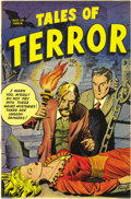 Golden Age (1938-1955):Horror, Tales of Terror #1 Mile High pedigree (Toby Publishing, 1952)Condition: NM-. We hadn't seen this pre-Code horror book befor...