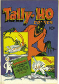 Golden Age (1938-1955):Superhero, Tally-Ho Comics #nn Mile High pedigree (Baily Publication, 1944) Condition: NM+. Frank Frazetta's first comic book is a must...
