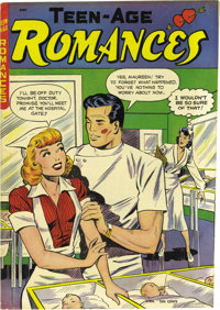 Teen-Age Romances #2 Mile High pedigree (St. John, 1949) Condition: NM. Matt Baker cover and interior art means collecto...
