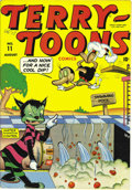 Golden Age (1938-1955):Funny Animal, Terry-Toons Comics #11 Mile High pedigree (Timely, 1943) Condition:NM-. This copy's fresh cover colors mean there'll be no ...