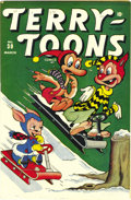 Golden Age (1938-1955):Funny Animal, Terry-Toons Comics #30 Mile High pedigree (Timely, 1945) Condition:NM-. Witness the appealing whites on this copy's front a...