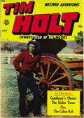 Golden Age (1938-1955):Western, Tim Holt #6 Mile High pedigree (Magazine Enterprises, 1949)Condition: NM+. This issue's got the first appearance of the Cal...