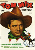 Golden Age (1938-1955):Western, Tom Mix Western #4 Mile High pedigree (Fawcett, 1948) Condition:VF/NM. Tom Mix had been deceased for some eight years when ...