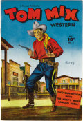 Golden Age (1938-1955):Western, Tom Mix Western #5 Mile High pedigree (Fawcett, 1948) Condition:NM-. Billy the Kid appears in this issue. Note that this co...
