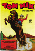 Golden Age (1938-1955):Western, Tom Mix Western #6 Mile High pedigree (Fawcett, 1948) Condition:NM. With the highest-graded CGC-certified copy to date bein...