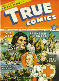 Golden Age (1938-1955):Non-Fiction, True Comics #2 Mile High pedigree (True, 1941) Condition: NM. Theold funnybook adage about #2 issues being scarcer than #1s...