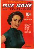 Golden Age (1938-1955):Non-Fiction, True Movie and Television #1 (Toby Publishing, 1950) Condition: VF.This movie and TV mag got an Overstreet listing thanks t...