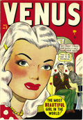 Golden Age (1938-1955):Romance, Venus #2 Mile High pedigree (Atlas, 1948) Condition: VF/NM. This copy's pages are whiter than white, gee whiz! This is the f...