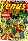 """Golden Age (1938-1955):Science Fiction, Venus #11 Mile High pedigree (Atlas, 1950) Condition: VF-. Thisissue's """"End of the World"""" cover makes it one of the most va..."""
