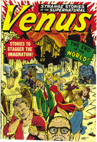 "Venus #11 Mile High pedigree (Atlas, 1950) Condition: VF-. This issue's ""End of the World"" cover makes it one..."
