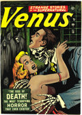 Golden Age (1938-1955):Horror, Venus #19 (Atlas, 1952) Condition: VF+. You have to admire thepluck of Venus -- in issue #1 she had handsome hunks vying fo...