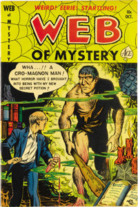 Web of Mystery #5 (Ace, 1951) Condition: NM-. Pre-Code horror. Overstreet 2006 NM- 9.2 value = $325.From the John McLaug...