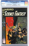 Golden Age (1938-1955):Science Fiction, Weird Science-Fantasy #29 (EC, 1955) CGC VF 8.0 Off-white to whitepages. So much to say about this final pre-Code book of t...