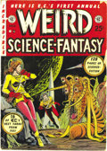 Golden Age (1938-1955):Science Fiction, Weird Science-Fantasy Annual 1952 (EC, 1952) Condition: VG+. Theseannuals are less common than other ECs because of limited...