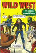 Golden Age (1938-1955):Western, Wild West #1 Mile High pedigree (Marvel, 1948) Condition: NM-. TheTwo-Gun Kid's appearance here was almost simultaneous wit...