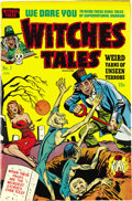 Golden Age (1938-1955):Horror, Witches Tales #1 Mile High pedigree (Harvey, 1951) Condition: VF-.We'd offered lots of Witches Tales before, but never ...