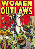 Golden Age (1938-1955):Crime, Women Outlaws #3 (Fox Features Syndicate, 1948) Condition: VF-. This series is by the publisher who brought the world Crim...
