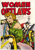 Golden Age (1938-1955):Crime, Women Outlaws #4 (Fox Features Syndicate, 1949) Condition: VF/NM. This is typical Fox fare, that's why we love it so! Based ...