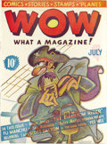 Platinum Age (1897-1937):Miscellaneous, Wow Comics #1 (Henle, 1936) Condition: Apparent FN/VF. The firstcomic book work of Will Eisner is a milestone in any comic ...