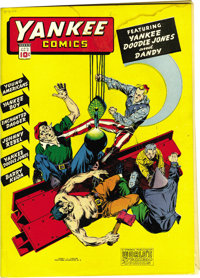 Yankee Comics #3 Mile High pedigree (Chesler, 1942) Condition: VG/FN. Nice off-white to white pages. Water stain through...