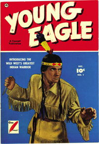 Young Eagle #1 Mile High pedigree (Fawcett, 1950) Condition: NM-. Photo cover. Overstreet 2006 NM- 9.2 value = $210.From...