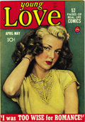 Golden Age (1938-1955):Romance, Young Love #2 Mile High pedigree (Prize, 1949) Condition: NM. This series was the creation of Joe Simon and Jack Kirby, who ...