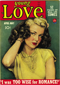 Young Love #2 Mile High pedigree (Prize, 1949) Condition: NM. This series was the creation of Joe Simon and Jack Kirby...