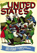 Golden Age (1938-1955):Non-Fiction, Your United States #nn Mile High pedigree (Lloyd Jacquet Studios,1946) Condition: NM-. With one page devoted to illustrated...