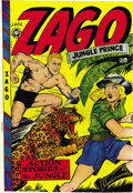 Golden Age (1938-1955):Adventure, Zago #3 (Fox Features Syndicate, 1949) Condition: VF/NM. Jack Kamen drew a story for this issue, and the rest of the art is ...