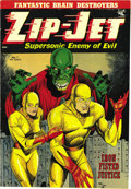 Golden Age (1938-1955):Superhero, Zip-Jet #1 Mile High pedigree (St. John, 1953) Condition: FN/VF. This copy's amazing cover gloss really caught our eye! If t...