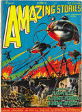 """Pulps:Science Fiction, Amazing Stories Group (Gernsback, 1926-28) Condition: AverageVG/FN. Here is an amazing group of early """"bedsheet""""format... (Total: 26 Items)"""