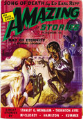Pulps:Science Fiction, Amazing Stories Group (Teck/Ziff-Davis, 1938-42) Condition: AverageFN. This group consists of issues dated February 1938, A... (Total:49 Items)